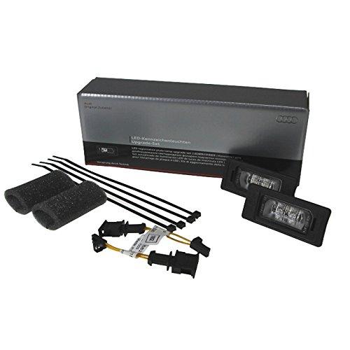 Audi 8K0052110 Kit de Mise à Niveau pour Éclaireurs de Plaque d'Immatriculation à LED