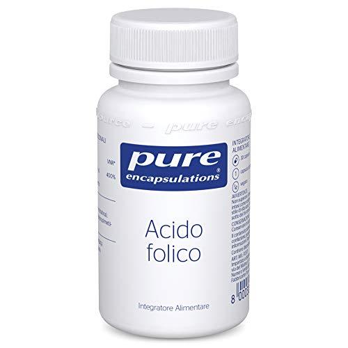 Pure Encapsulations - Acido Folico 800mcg - Integratore Alimentare con Acido Folico per Preconcezione e Gravidanza - 30 Capsule Vegetariane