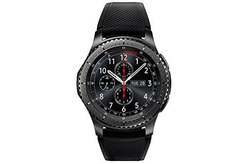 Samsung Gear S3 Frontier - Smartwatch Tizen (pantalla 1.3' Super AMOLED 360x360, GPS integrado, batería 380 mAh, altavoz integrado), color Gris (Space Gray)- Version española