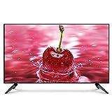 Televisor LED de alta definición (1080P) para el hogar, televisor LCD para el hogar con altavoces estéreo de dos canales y función de reducción de ruido de imagen, compatible con VGA, USB, AV, DVI