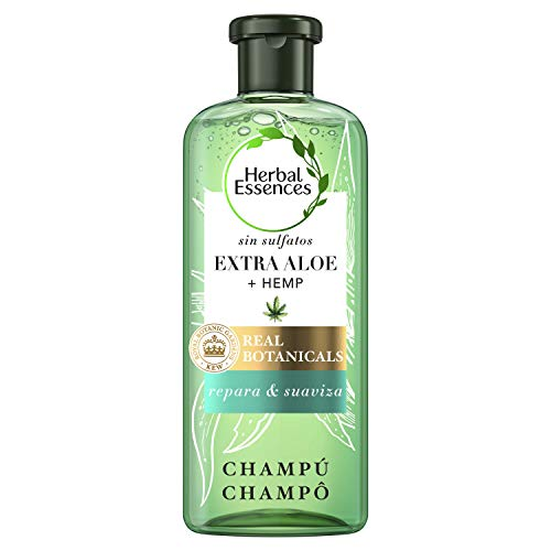 Champú Herbal Essences Bio: Renew sin Sulfatos con Aloe Intenso Y Hemp, en Colaboración con el Royal Botanic Gardens de KEW