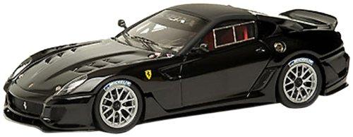 Hotwheels - T6264 - Voiture Miniature - Elite (Mattel) - Ferrari 599XX {Noir} - Echelle 1/43
