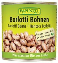 Rapunzel Bio Borlotti-Bohnen in der Dose, 1er Pack (4 x 400g) - BIO
