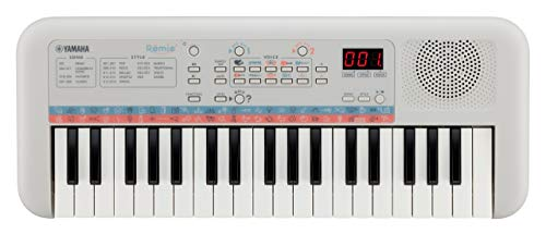 Yamaha Remie PSS-E30 37-Key Portable Mini Keyboard, White