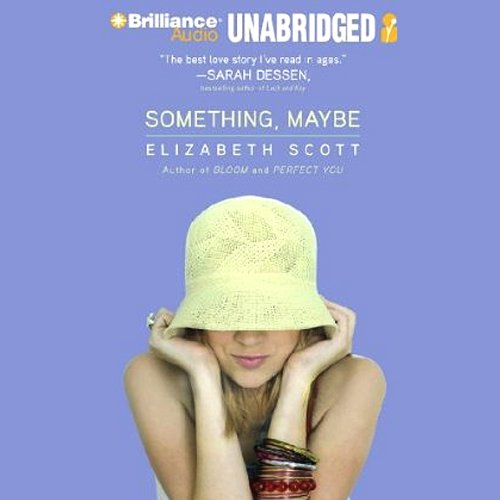 Something, Maybe audiobook cover art