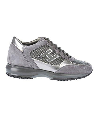 Hogan - Zapatillas para mujer gris gris IT - Marke Größe, color gris, talla 36.5 IT - Marke Größe 36.5