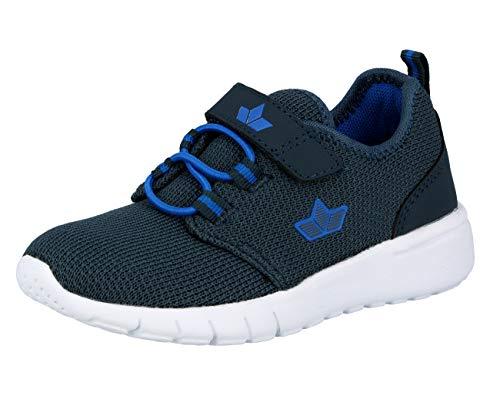 Lico Unisex - Kinder Sneaker Pancho VS,Low-Top Sneaker,lose Einlage, Halbschuh sportschuh Klettschuh Klett-Verschluss,Marine/blau,33 EU