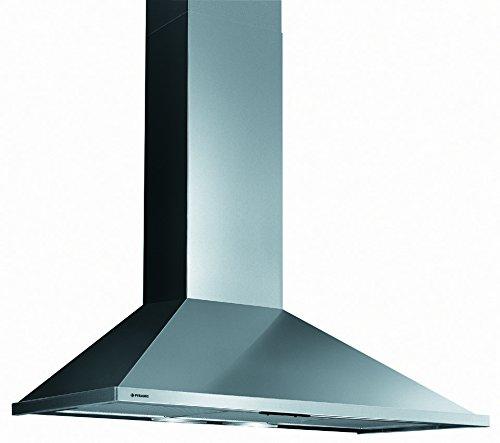 Pyramis SQUARE CHIMNEY 60 Wandhaube / 600 cm/Abluftleistung 600 cbm/h/Edelstahl