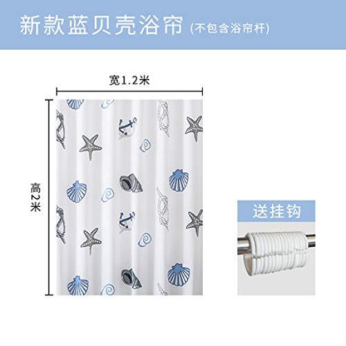 MFSM scheidingswand, 2 x 1,8 m, warm douchegordijn, mehltau, waterdicht, badgordijn, toiletpapier, gordijnenset, vrijstaand, gordijn, deurgordijn