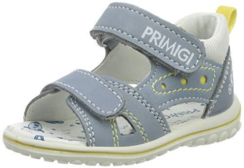 Primigi Sandalo Primi Passi Bambino, Bimbo 0-24, Blu (Avio/Azzur/B.Co 5365311), 18 EU