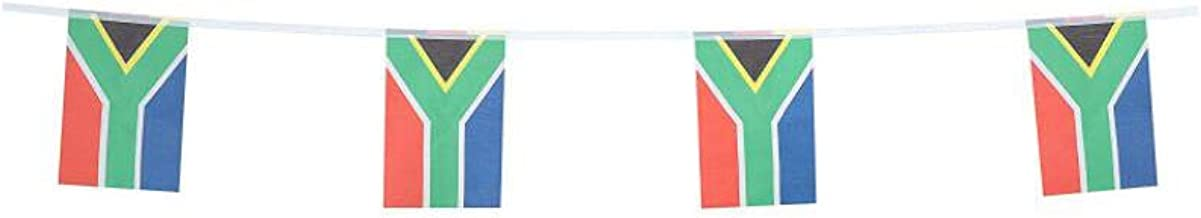 South Africa Flags South African Small String Flag Banner Mini National Country World Flags Pennant Banners For Party Events Classroom Garden Olympics Festival Grand Opening Bar Sports Clubs Celebrati