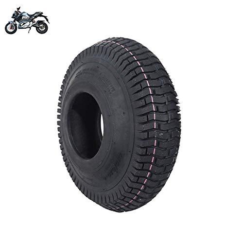 GOHHK Neumáticos para Scooter eléctrico Ruedas duraderas, 4,10/3,50-4 Neumáticos Interiores y Exteriores Antideslizantes, Resistentes al Desgaste y a los pinchazos, Servicio Pesado, Apto p