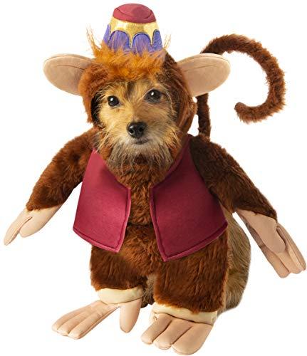 Rubie'S - Disfraz Oficial de Disney Aladdin Abu para Perro, Talla Grande, 200 g