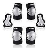 Protective Gear for Kids, Kids Knee Pads Elbow Pads Guards 3 in 1 Protective Gear Set for Skating Cycling Bike Rollerblading Scooter
