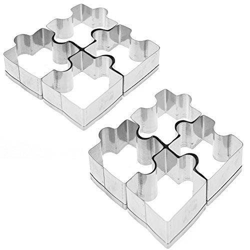 Puzzle Piece Shaped Fondant Cookie Cutter #1118
