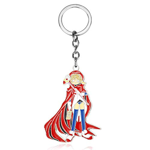 Card Captor Sakura Card Captor Sakura Kinomoto Sakura im Comic Stars Schaft Vogel Schlüsselanhänger Tasche Anhänger