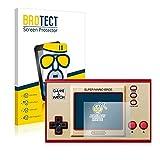 BROTECT Protector Pantalla Cristal Mate Compatible con Nintendo Game & Watch Super Mario Bros Protector Pantalla Anti-Reflejos Vidrio