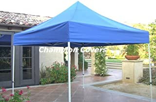 Champion Replacement Top for Ez Up 10x10 Blue