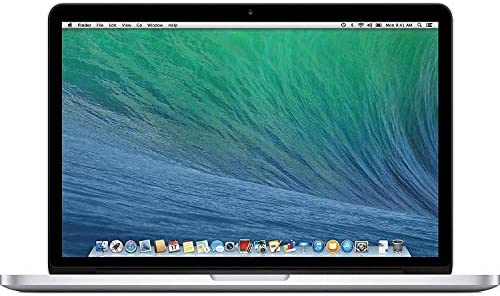 Apple MacBook Pro ME866LL/A Intel Core i5-4288U X2 2.6GHz 8GB 512GB SSD 13.3in, Silver (Renewed)