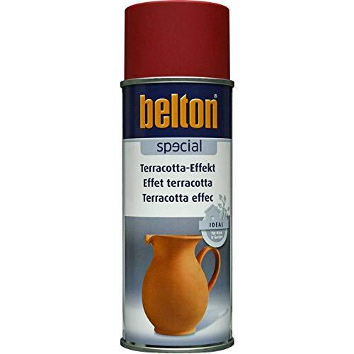 Unbekannt Kwasny Belton Special Terracotta-Effekt Effektlack Speziallack Lack Lackspray Spraylack steinweiss 400 ml