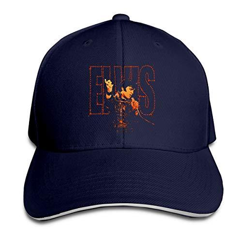 Elvis Presley Cap Sandwich Hut Baseballkappe Polyester Unisex Alle Jahreszeiten Sind Bequem Und Atmungsaktiv