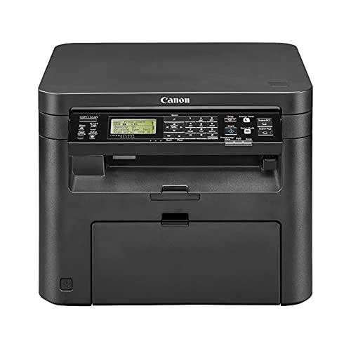 Canon imageCLASS MF200 Series All-in-One Wireless Monochrome Laser Printer Scanner Copier for Home Business Office, Black - Tiltable LCD, 24 ppm, 250-Sheet, Ethernet