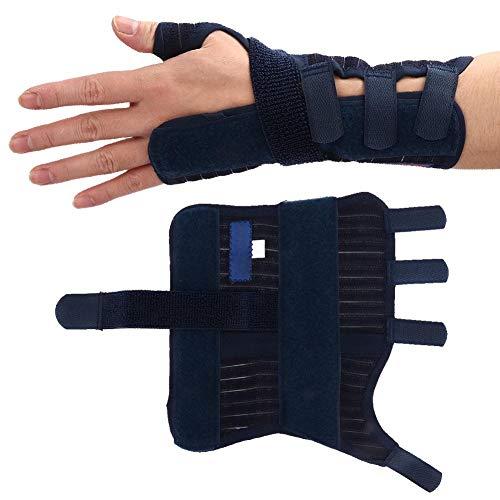 AMONIDA 【Venta del día de la Madre】 Protección de muñeca Banda Protectora de fijación de articulación de muñeca Placa de Acero Protector de corrección Transpirable para esguince
