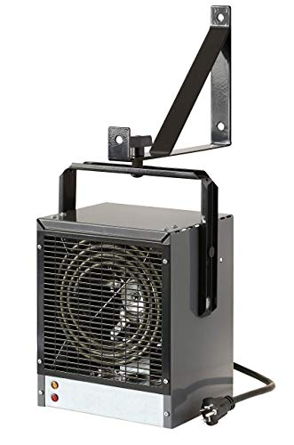 Cadet Garage/Workshop Heater with Thermostat (Model: CGWH4031G), 240V, 4000W, Grey