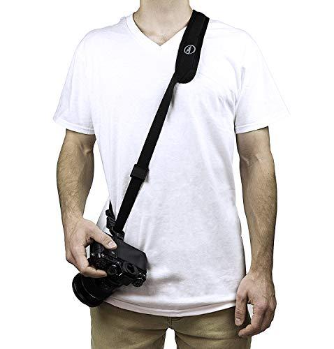 【国内正規品】tamrac カメラストラップ コンパクトストラップ ブラック ミラーレスカメラ対応 T2030-1919