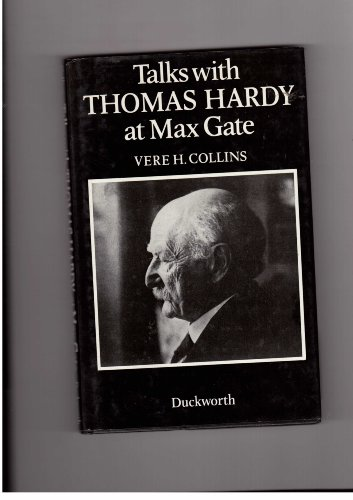 Talks With Thomas Hardy at Max Gate 1920-1922