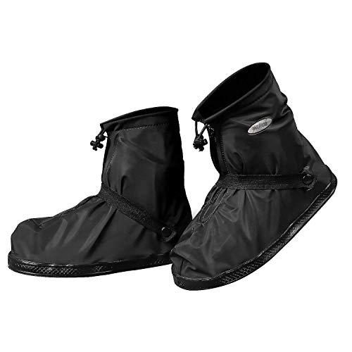 YMTECH Regenüberschuhe Wasserdicht Schuhe 1 Paar, Outdoor Rutschfester Radsportschuhe Überschuhe (42 - 43 EU)