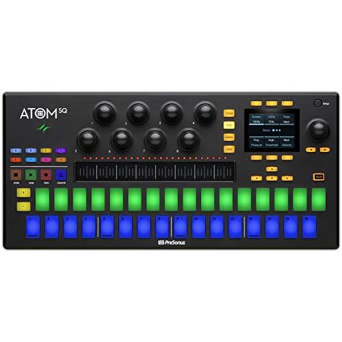 PreSonus ATOM SQHybrid MIDI Keyboard/Pad Performance and Production Controller