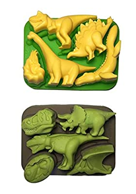 Win&Co Dinosaur Silcone Molds (Set of 2)