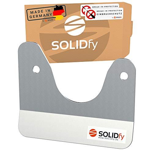 SOLIDfy® - Einbruchschutz Hecktür Prick Stop Sicherung aus Edelstahl für Ducato, Jumper, Boxer X250 X290