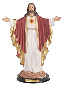 George S Chen Imports Sacred Heart Of Jesus Holy Figurine Religious Decor 12