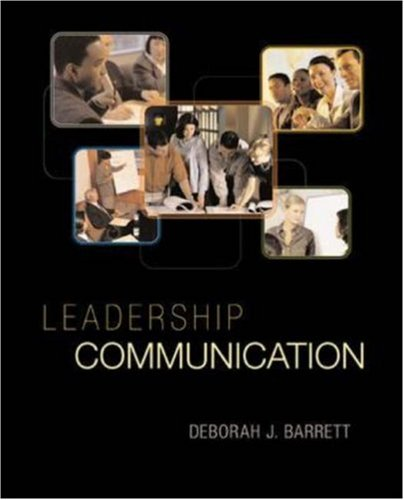 Download Leadership Communication (TITLES IN BUSINESS COMMUNICATION) 0072918497