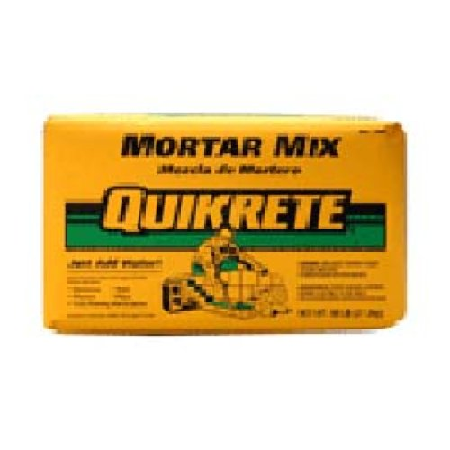 QUIKRETE CO 1102-60 Mortar Mix Bag, 60 Lbs