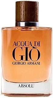 Gorgio Armani Giorgio Armani Acqua Di Gio Absolu for Men Eau De Parfum Spray, 2.5 Oz (tester), 2.5 Oz