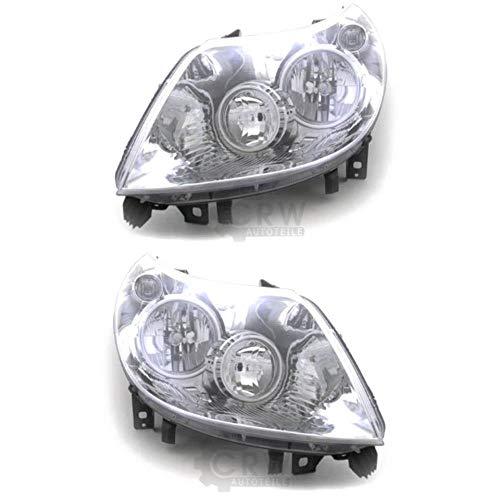 Scheinwerfer Set für DUCATO (250/251) Bj. 07/06-12/10 H7/H1 mit Motor