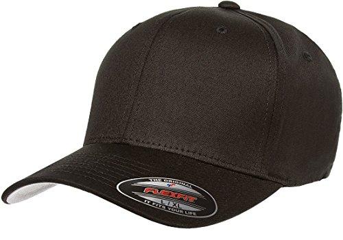 Flexfit Premium Original Hat Pros Fitted Hat Large/X-Large Black