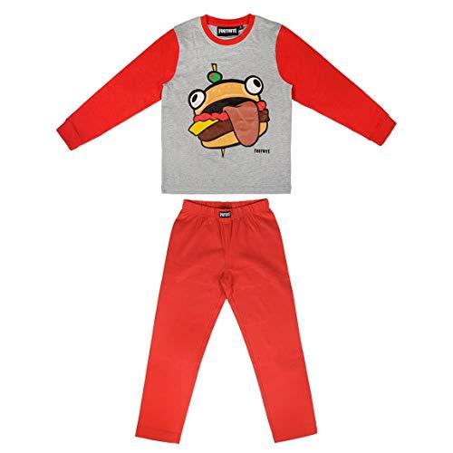 | Conjunto De Pijama Infantil ''Durr Burger'' | Cálido Y Acogedor | Pijamas Dos Piezas De Juego para Niños Y Adolescentes | 100% Algodón | Producto Oficial |