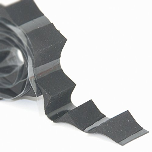 BEHA Wannenausgleichsecken, Dichtecken Radius 18mm, selbstklebend zur Montage von Wannendichtband