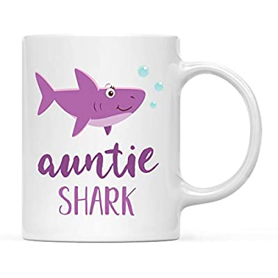 Andaz Press Baby Shark Family Coffee Mug Collection