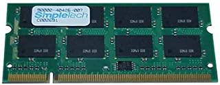 SimpleTech 512MB 266Mhz DDR SODIMM STC-2800-512 6615767 / STC-2800/512