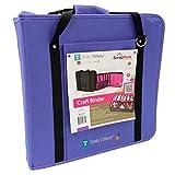 ScrapRack Craft Binder Purple, None