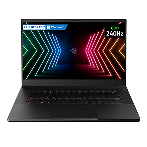 Razer Blade 15 Advanced Gaming Laptop 2021: Intel Core i7-11800H 8-Core, NVIDIA...