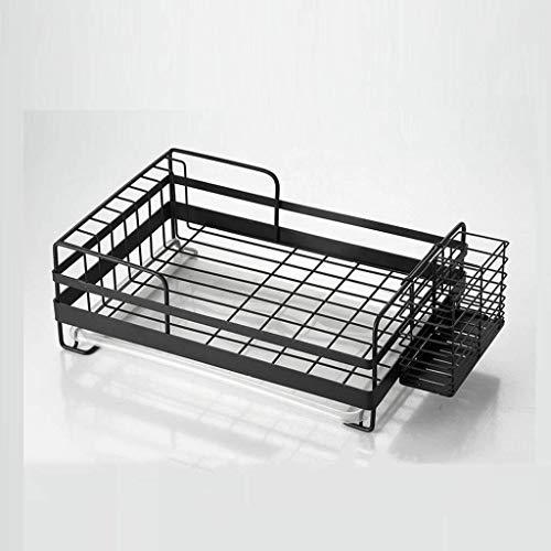 JJJJD Se usa for tratar el hogar grande Escurridor Escurridor Plate rack for placas Macetas de cuencos y utensilios de cocina.Escurridor de cubiertos Incluye