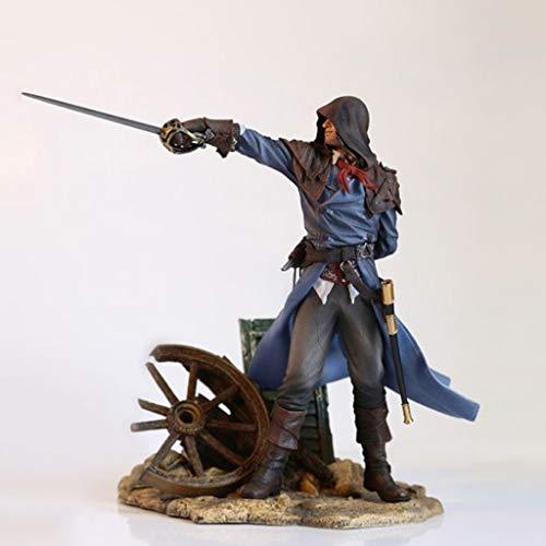 ZRY Assassins Creed Unity Arno Action-Figur Modell Popular Geschenk Spielzeug Dekorationen Puppe Ornamente