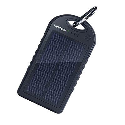 Nekteck Solar Panel Charger 12000mAh