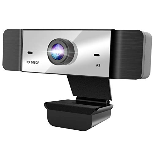 1080p Webcam FHD Web Camera for Computers USB Video Streaming for PC Laptop Desktop Mac, No Delay Video Calling for Conference, Gaming, Online Classes